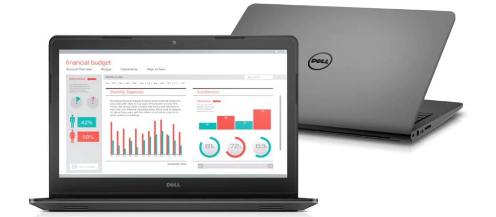 Dell Latitude 5490 wydaje się dość solidną konstrukcją, która plasuje się w okolicach średniej półki
